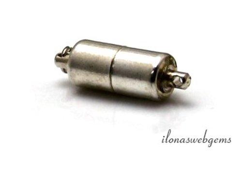 Sterling zilveren Magneetslotje Magic magnetic ca. 15.5x5mm