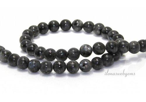 Larvikite beads 8mm