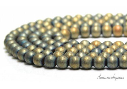 Hematite beads ca. 8mm