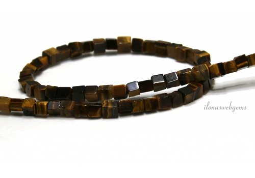 Tiger eye beads about 5mm