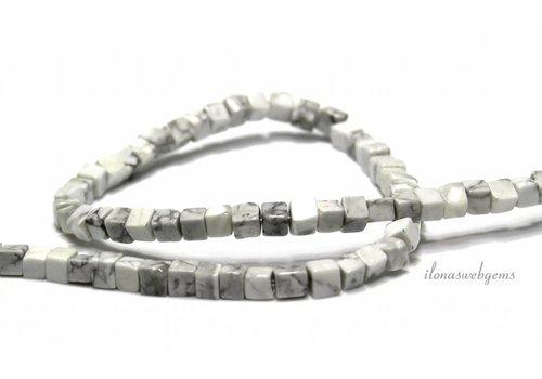 Howlith Perlen 5mm
