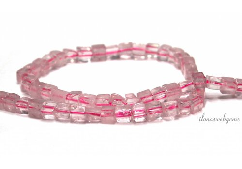 Rose quartz beads approx. 5mm
