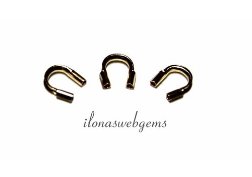 Goldfilled wire protector / wire guide Small approx. 4.5mm