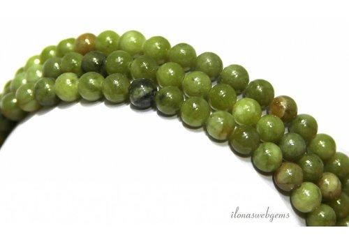 Jade Perlen Perlen rund um 6mm