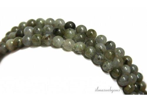 Labradorit Perlen ca. 6 mm