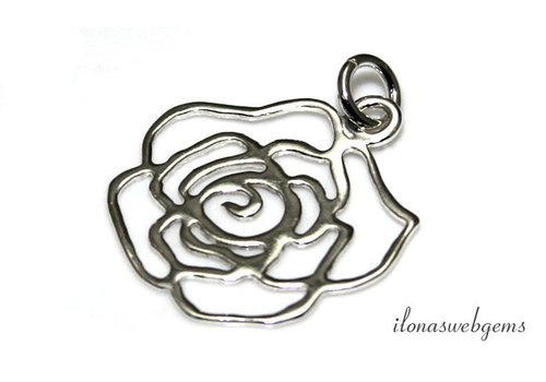 Sterling silver pendant approx. 21mm