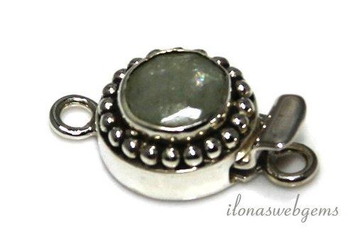 Sterling Silber bakslotje mit etwa 15,5 mm