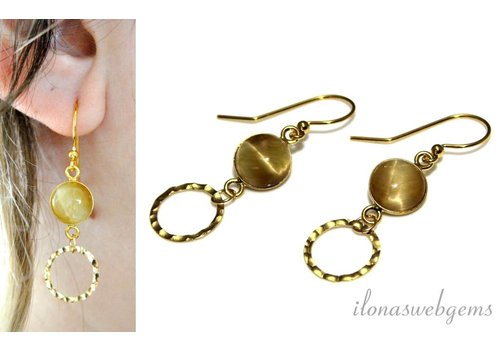 Inspiration: Earrings with cabochon
