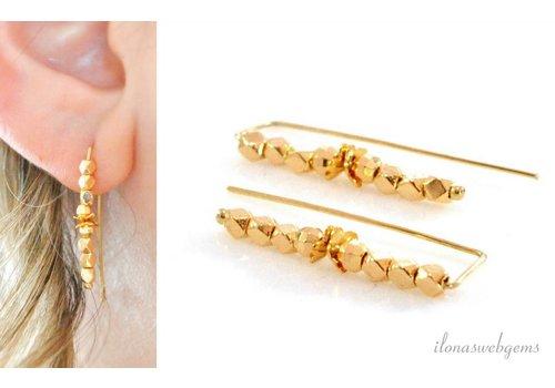 Inspiratie: Oorhangers mirror beads
