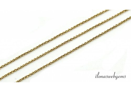 1cm 14k / 20 Gold filled chains / chain 1.2mm