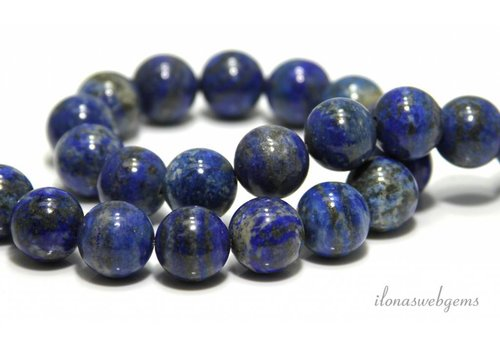 Lapis lazuli beads around 18.5mm