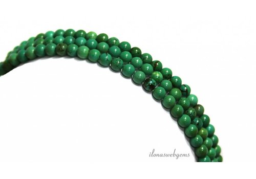 Turquoise beads around 4mm