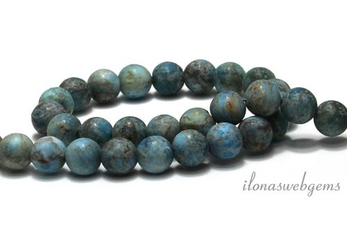 Apatite beads mat around 8mm