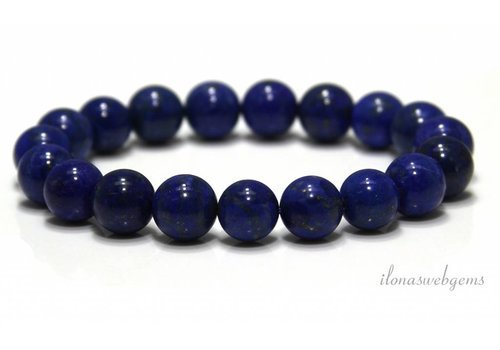 Lapislazuli Perlen (Armband) AA Qualität ca. 10mm