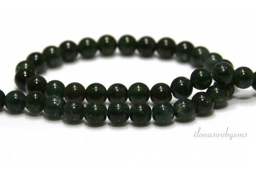 Apatit Perlen rund grün ca. 7mm