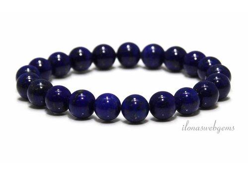 Lapis lazuli kralen (armband) AA kwaliteit ca. 8mm