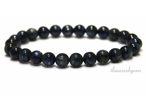 Kyanite beads (bracelet) A quality about 8mm