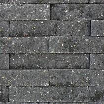 Brickwall 30x10x6,5cm antraciet