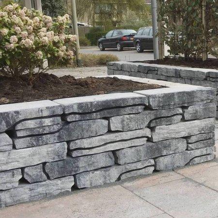 StoneWalling Grijs/Zwart