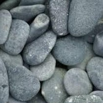 25 KG Beach pebbles 40-60mm antraciet