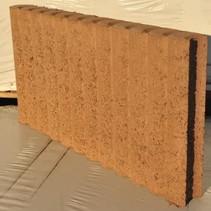 Mini Rondobandpalissade 6x25x50cm bruin