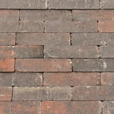 Abbeystones 20x5x7cm rood/zwart