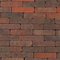 Abbeystones 21x6,8x7cm rood/zwart