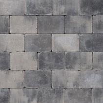 Abbeystones 21x14x6cm grijs/zwart