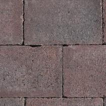 Abbeystones 21x14x6cm rood/zwart