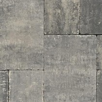 Abbeystones wildverband 6cm grijs/zwart