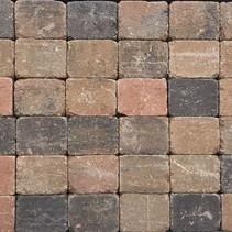 Abbeystones 10x10x6cm bont genuanceerd
