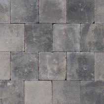 Abbeystones 20x20x6cm grijs/zwart