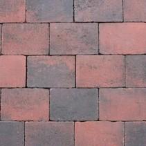 Abbeystones 20x30x6cm rood/zwart