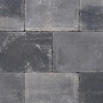 Abbeystones 30x40x6cm grijs/zwart