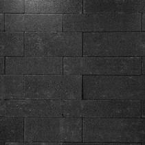 Oprit-steen banenverband 8cm Glossy Black