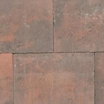 Puras 20x30x6cm rood zwart