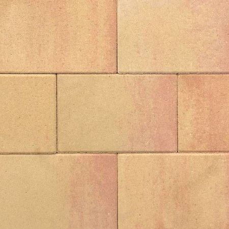 Terras-steen 20x30x4cm zalm geel