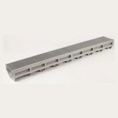 Topgoot zilvergrijs staafrooster [44080]