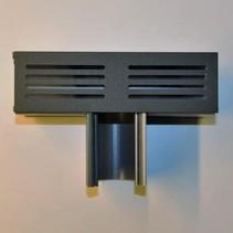 King-Fix Ultra Drain Blackline T-stuk