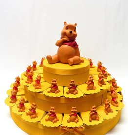 36 delig doop bedankjes taart Winnie de Poeh