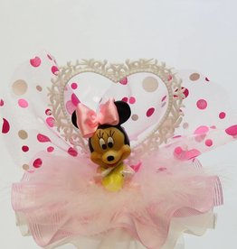 Baby Minnie Mouse taarttopper