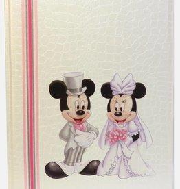 Mooi gastenboek met Mickey en Minnie