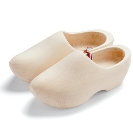 Sanded woodenshoes