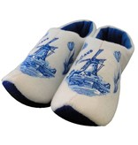 Holland slippers windmill Delftblue