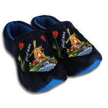 Holland slippers windmill blue