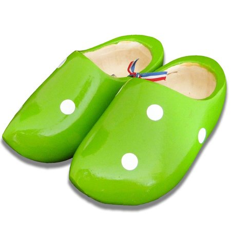 Stip clogs Green
