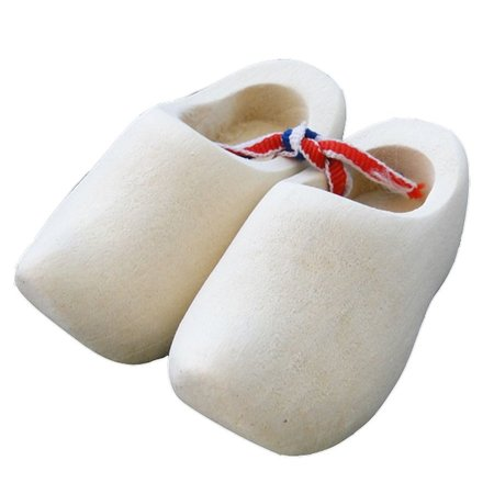 souvenir woodenshoes sanded 8cm