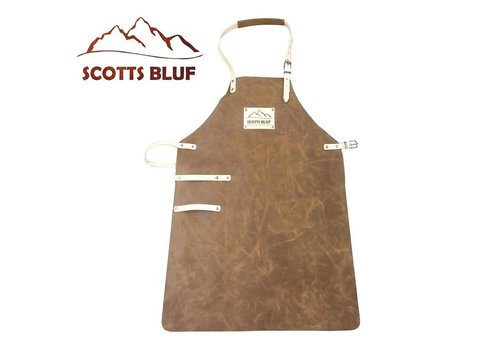 Scotts Bluf BBQ Schort Scottsbluf cognac