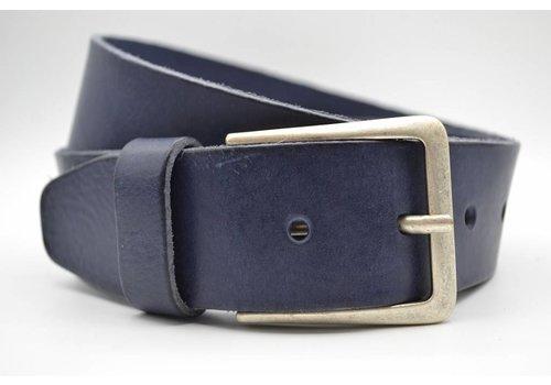 Scotts Bluf mooie blauwe vintage volnerf jeansriem