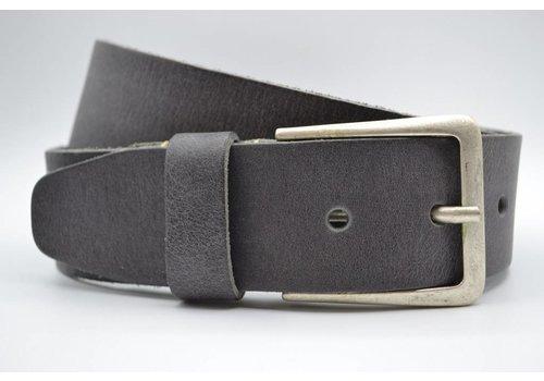 Scotts Bluf mooie grijze vintage volnerf jeansriem